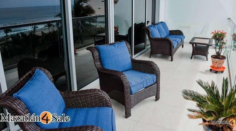 Mazatlan-4 bedrooms in Peninsula Condo- For Sale-3