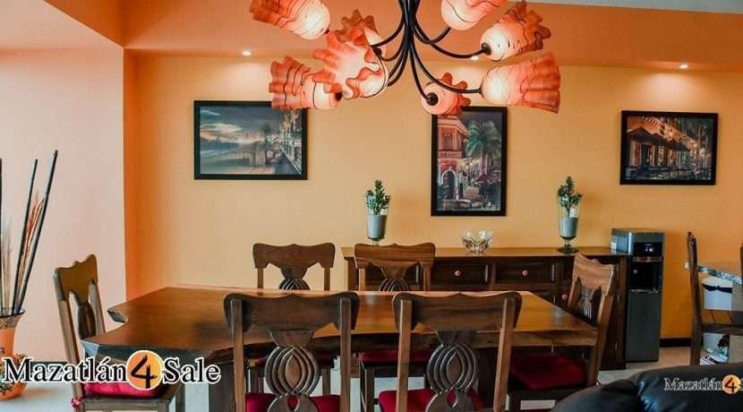 Mazatlan-4 bedrooms in Peninsula Condo- For Sale-7