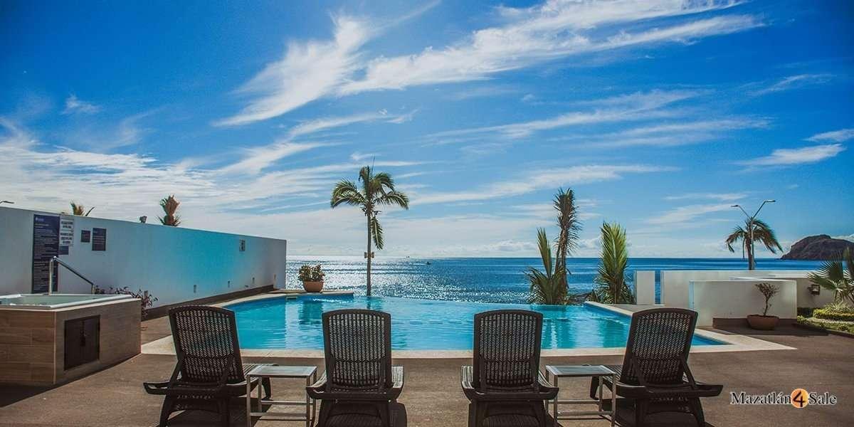 Mazatlan Horizon Sky Oceanfront Penthouse Condo