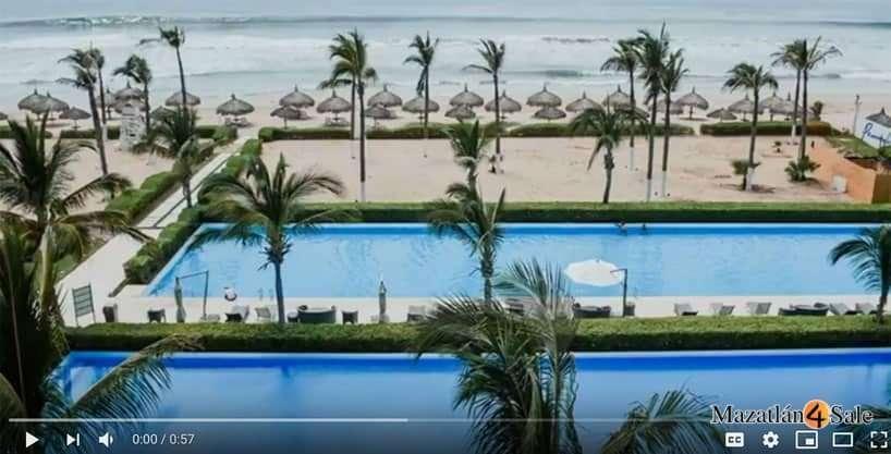 Mazatlan Peninsula Beachfront Condo – SOLD!