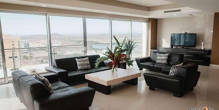 Mazatlan-2 bedrooms in Solaria-Penthouse For Sale-Mazatlan4Sale -2