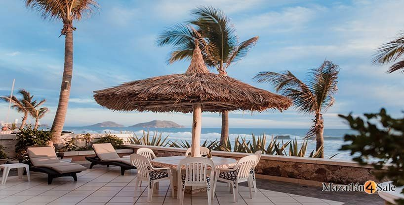 Mazatlan Beachfront Home