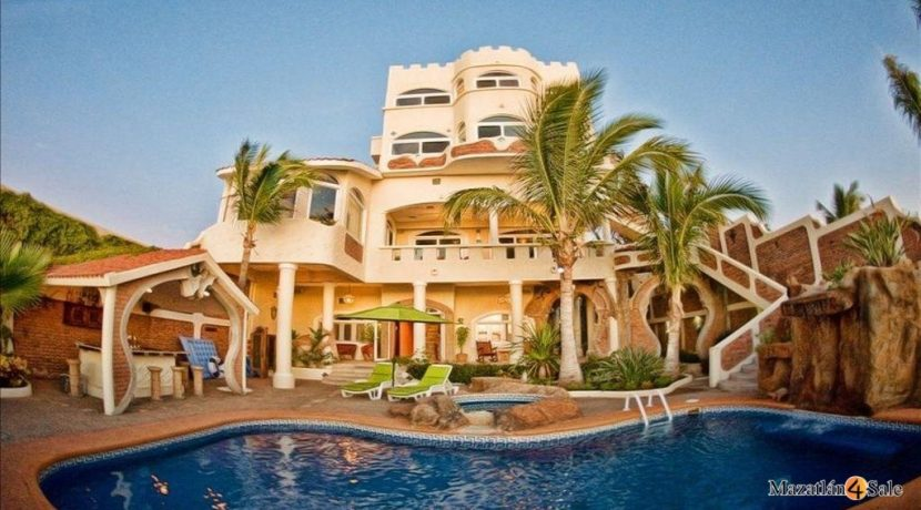 Mazatlan-Sandcastle-Oceanfront Estate For Sale-Mazatlan4Sale 19