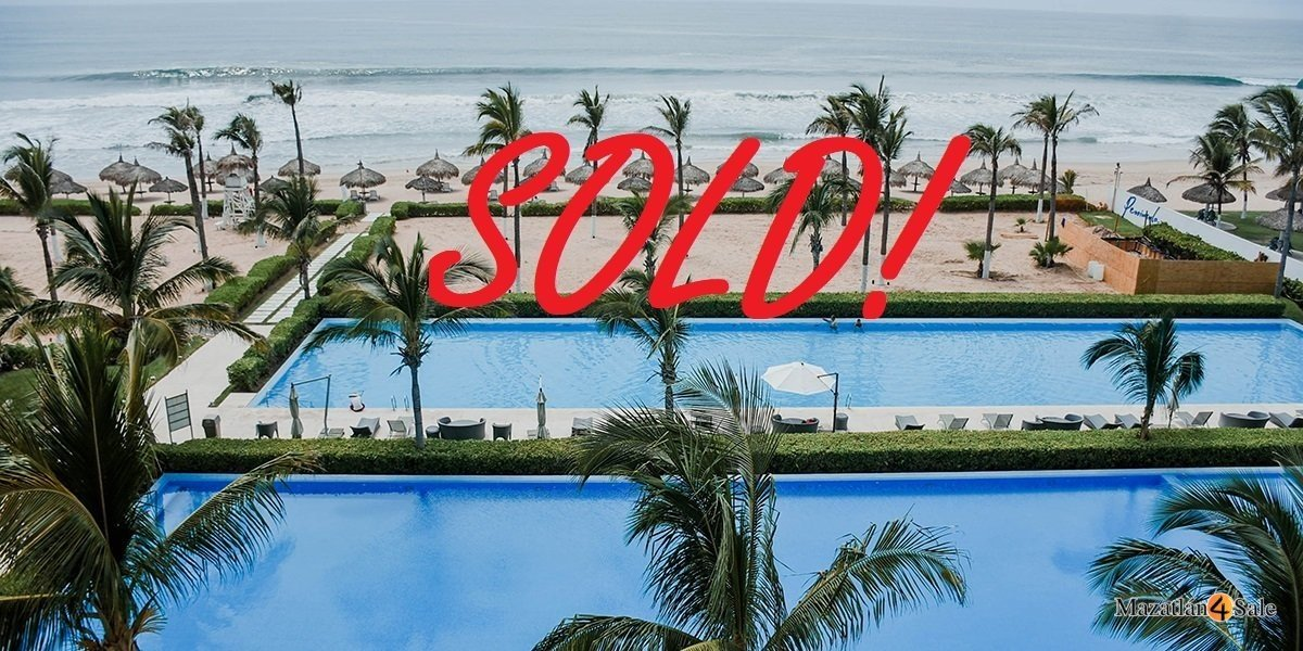 Mazatlan Peninsula Beachfront Condo – SOLD!