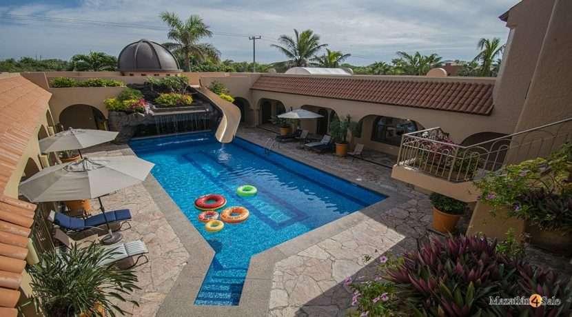 Mazatlan-El Delfin Oceanfront Estate -For Sale-Mazatlan4Sale 111