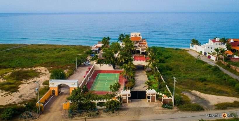 Mazatlan SandCastle Beachfront Estate