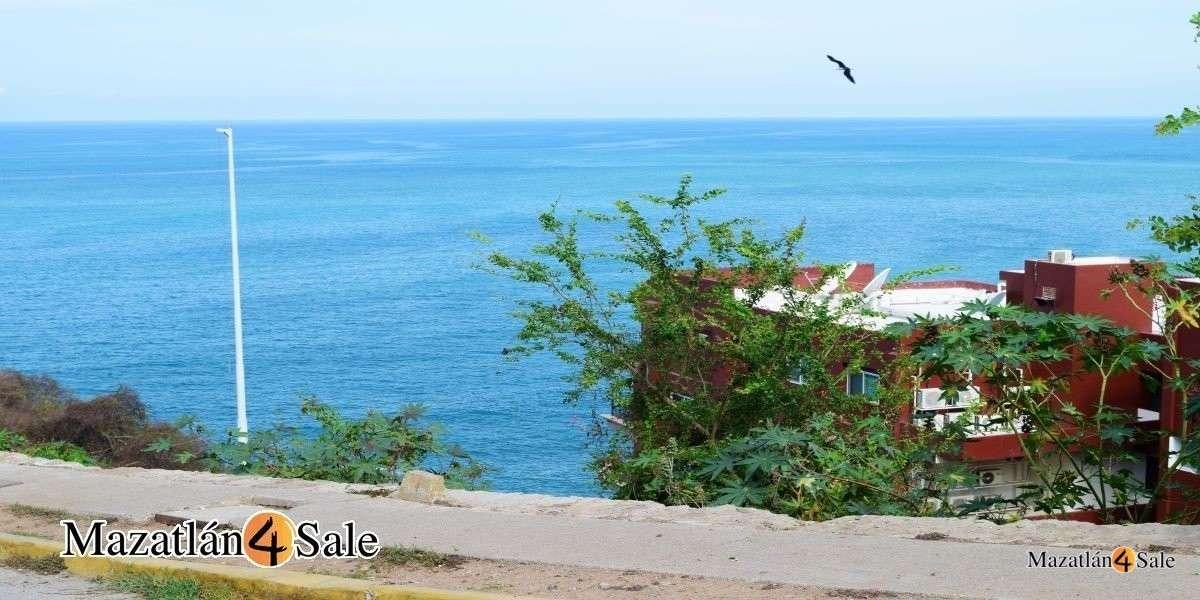 Ocean View Hilltop Lot 180° View of Mazatlan