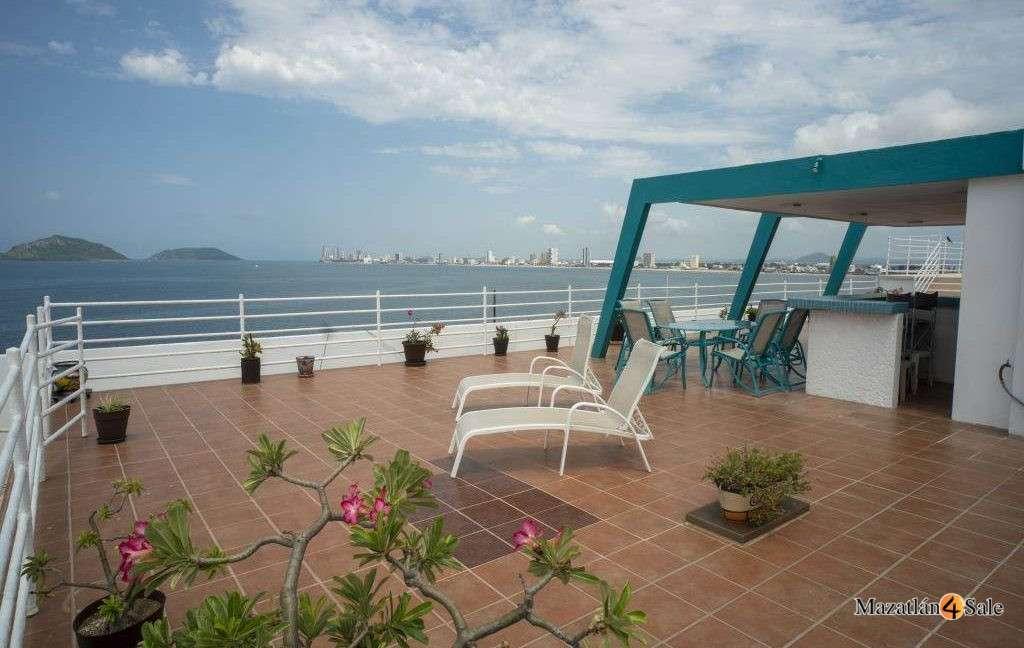 Mazatlan Oceanfront Centro Condo For Sale