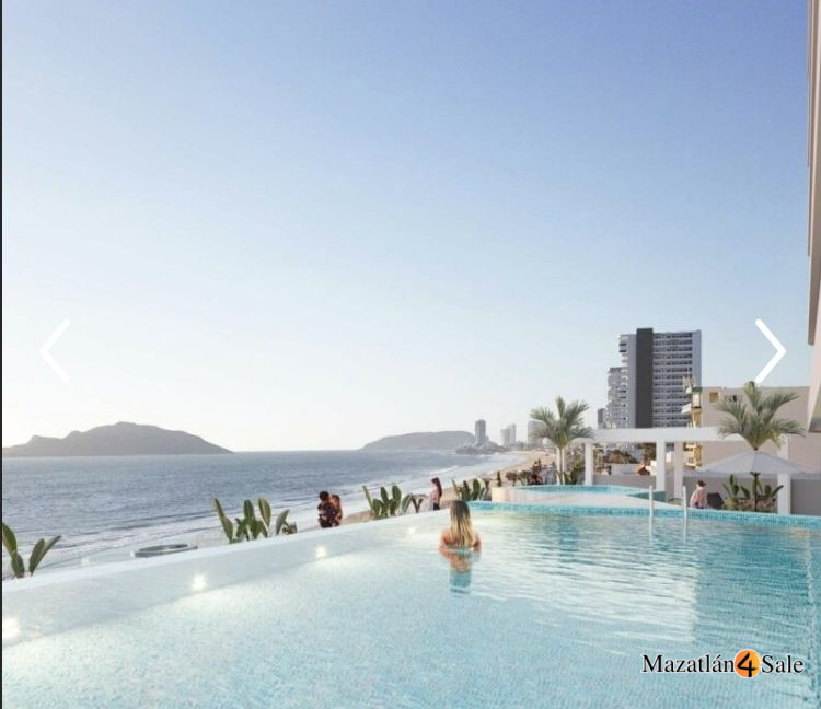 Mazatlan Oceanfront Condo For Sale