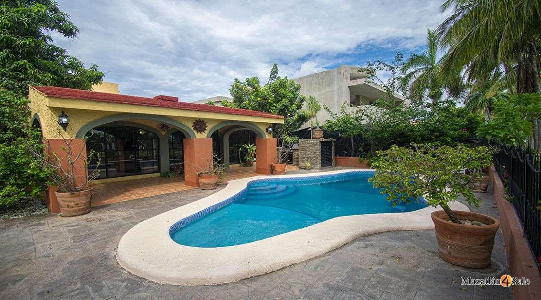 Mazatlan-El Cid Golf Course House with Pool- For Sale-Mazatlan4Sale 36
